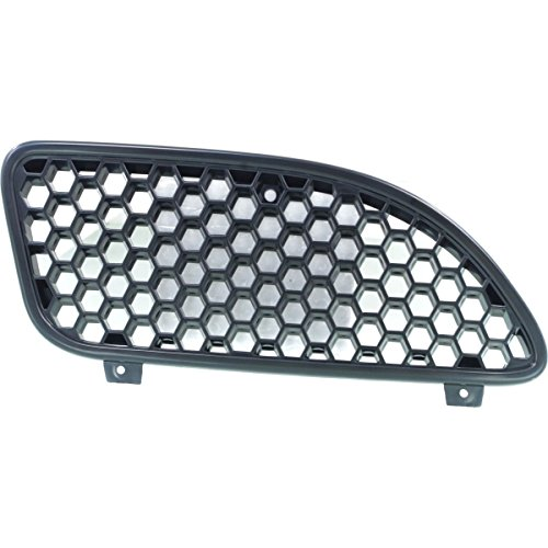 DAT 02 - 05 PONTIAC GRAND AM SE MODEL BLACK GRILLE RIGHT PASSENGER SIDE GM1200480 (Pontiac Grand Am Mileage)