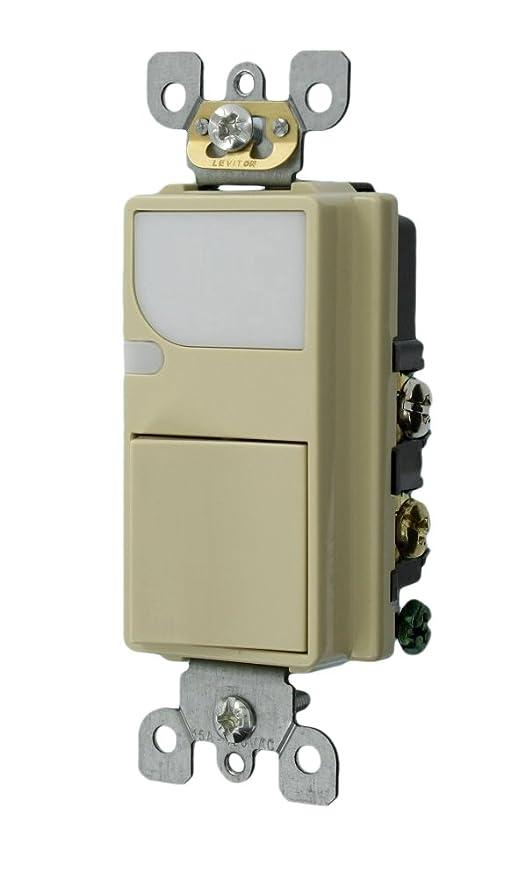 leviton 6526 w 15 amp 120v ac combination decora switch with led