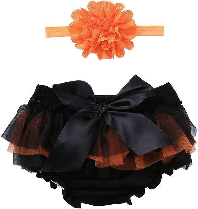 FELZ Halloween Bebe niña Pantalones Cortos Bowknot para niñas ...