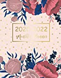 2020-2022 Monthly Planner: Elegant Flower Cover | 2020-2022 Three Year Planer with Holidays | Agenda Yearly Goals Monthly Calendar 36 Months | ... 36-Month Calendar Jan 2020 to Dec 2022)