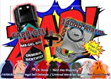 FARBGEL + Attack Alarm (100% LEGAL - Criminal Identifying Spray + 140Db Mini Minder)