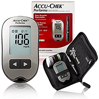 Amazon Com Accu Chek Aviva Blood Glucose Meter Health
