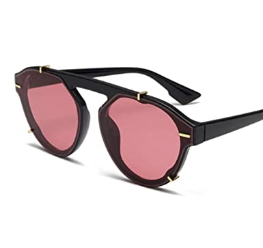 SIMINGSHUAI Gafas de sol Cat Eye montura gafas de sol negras ...