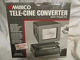 Ambico Tele-Cine Converter #V-0610