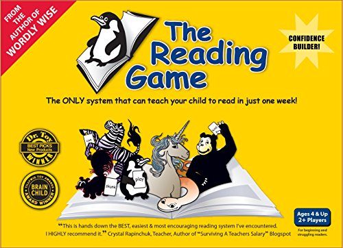 Allsaid & Dunn AD12518 2nd Edition The Reading Game (Reading Games For 2nd Grade)