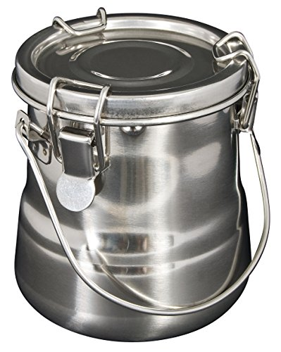 Heritage Arts BWB13 Airtight Steel Brush Washer 24oz,Silver (Paint Alvin)