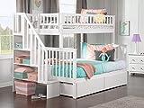 Atlantic Furniture AB56642 Woodland Staircase