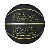 Wilson NCAA Hilight Composite Leather basketball, Official Size