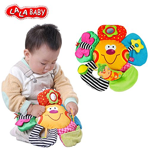 LALABABY Big Face Flower Early Education Toy for
