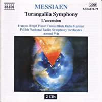 Messiaen: Turangalila Symphony; L'Ascension