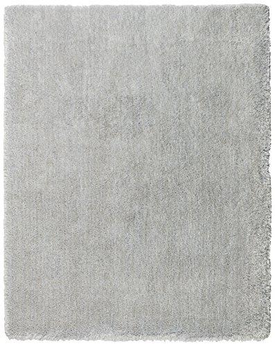 Rivet Shaggy Short Rug, 7'7'' x 9'7'', Grey by Rivet