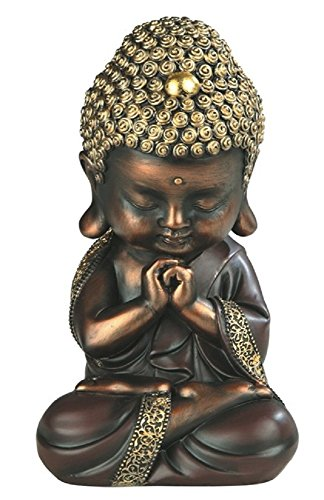 Monk Figurines (StealStreet Sitting Baby Buddha Religious Decorative Figurine, Multicolor)