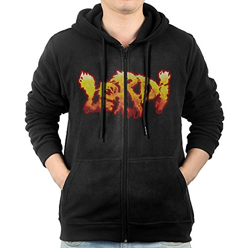 GD-One Men's Lordi Camping Cool Hoodie Hooded Sweatshirt Leisure Style S Black (Marilyn Monroe Costume For Kids)