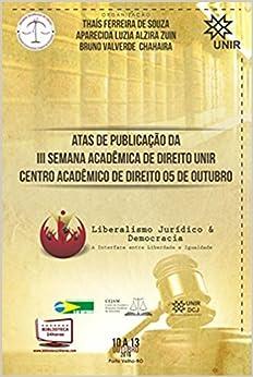 Book ATAS DE PUBLICAÇÃO DA TERCEIRA SEMANA ACADÊMICA DE DIREITO DA UNIR CENTRO ACAD (Em Portugues do Brasil)