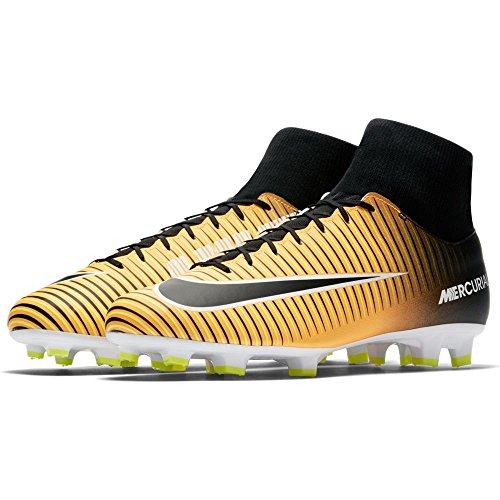 Fg Uomo Mercurial Orange Vi volt black Scarpe Victory 801 white 903609 Laser Calcio Df Da Nike F4Bwg