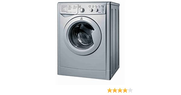 Indesit IWC 6125 S Independiente Carga frontal 6kg 1200RPM A+ ...