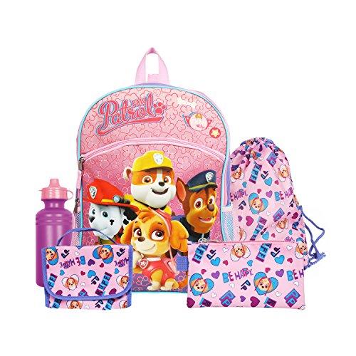 FAB Starpoint Nickelodeon Girls Paw Patrol 16 Purple Backpack Back to School Essentials Set