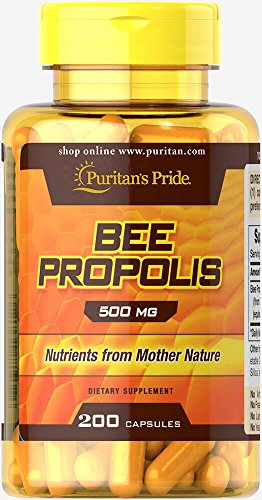 Cheap Puritans Pride Bee Propolis 500 Mg, 200 Count