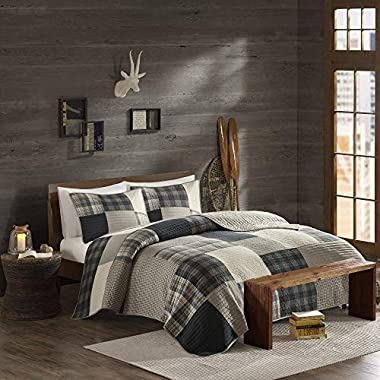 Woolrich Winter Hills Quilt Mini Set Cal King Tan