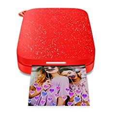 Turn every fun-filled memory and adventure into instant color prints with the HP Sprocket 200 printer. This smartphone printer is designed to travel light and fit virtually anywhere, so you can capture memories in the moment. Download the fre...