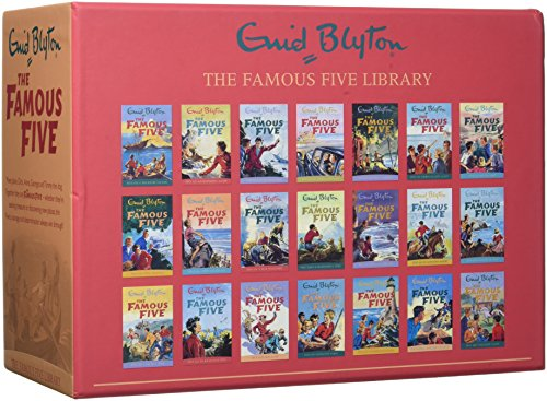 Enid Blyton Famous Five Series 21 Books Collection Box Gift Set Pack (1 To ()