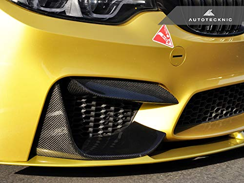 F82 F83 M4 AutoTecknic Performance Carbon Fiber Bumper Trim For F80 M3
