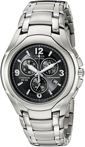 Citizen AT0940 50E Eco Drive Titanium Watch