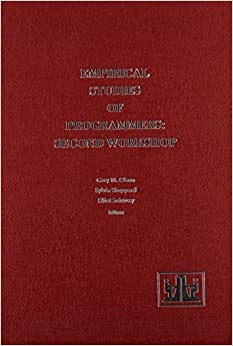 Empirical Studies of Programmers: Second Workshop (Human/Computer Interaction Series) by Elliot Soloway (1991-05-01)