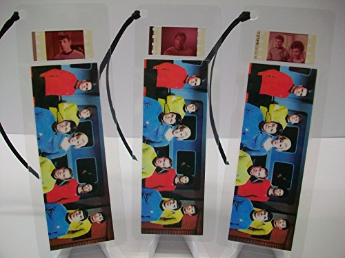 STAR TREK TV Color Movie Film Cell Bookmark Collectible Cinema Memorabilia complements poster dvd