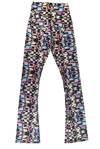 Appleletics Women's Unique Multi-Patterned Maternity Flare Yoga Pants (Small,...