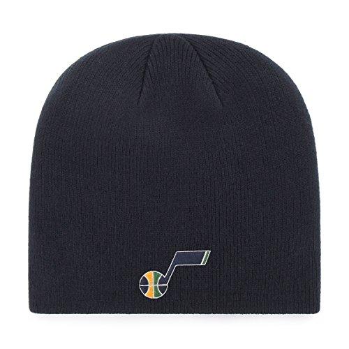 fan products of NBA Utah Jazz OTS Beanie Knit Cap, Navy, One Size