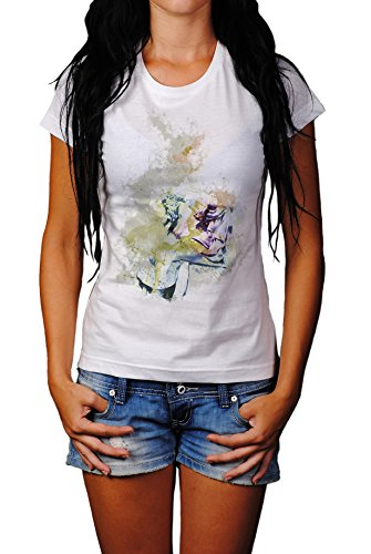 Sokrates I Lady T- Shirt , Stylisch aus Paul Sinus Aquarell Old Style