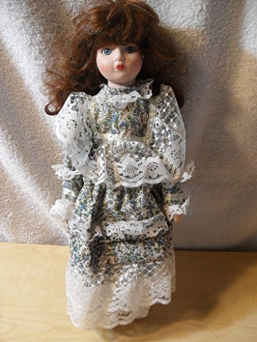 VINTAGE HAND MADE DOLL WITH PORCELAIN HEAD ARMS LEGS BEAUTIFUL VICTORIAN Dress