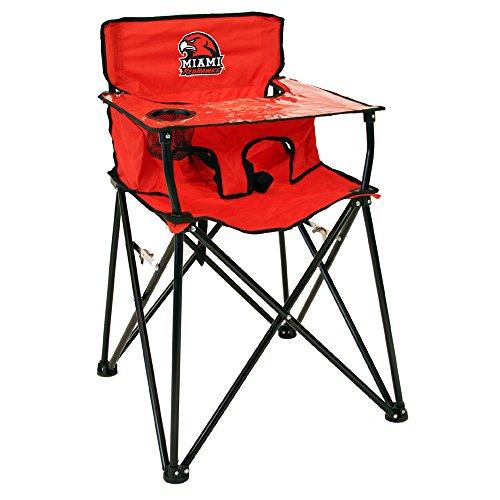 Rivalry Distributing RIV-RV270-1700 Miami Ohio Redhawks NCAA Ultimate Travel Child High Chair by Rivalry Distributing