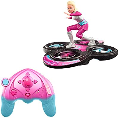 Barbie Star Light Adventure Flying RC Hoverboard Doll | Remote Control Cosmic Barbie
