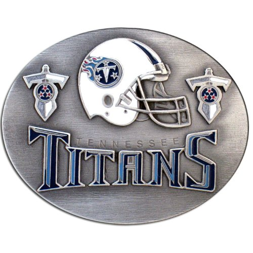 NFL Tennessee Titans Belt (Belt Buckle Football Buckles)