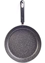 10'' Stone Earth Frying Pan by Ozeri, with 100% APEO & PFOA-Free Stone-Derived Non-Stick Coating from Germany