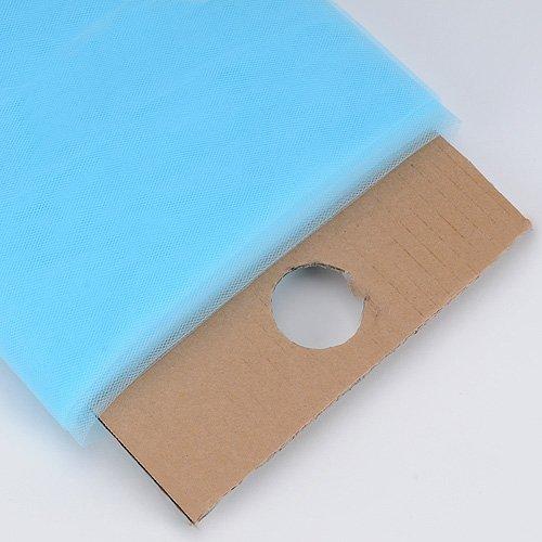 BBCrafts Premium Tulle Fabric Bolt (W: 54 inch | L: 40 Yards) (Light Blue) ()