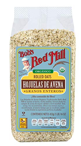 Bobs Red Mill, Hojuelas De Avena Orgánica Regular, 453 Gr.