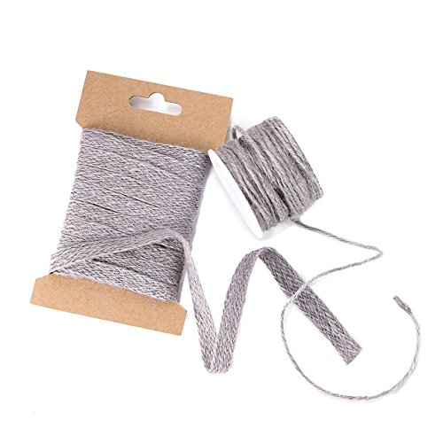 Neotrims 100% Natural Jute 10Mm Ribbon Trim & 2Mm Cord String,18 Fashion Colours. Matching Colours,Sold Separate Or As Combo,Crafts Decoration Jewellery Making,20Mts,2Mm Black Cord 20mts-5mts-Lt (Costume Medievale Ebay)