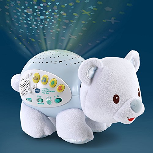VTech Lil' Critters Soothing Starlight Polar Bear Amazon Exclusive - Voice Activated Crib Light