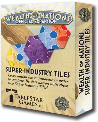 Tablestar Games - Wealth of Nations Super Industry Tiles by Tablestar Games (Tablestar Games)