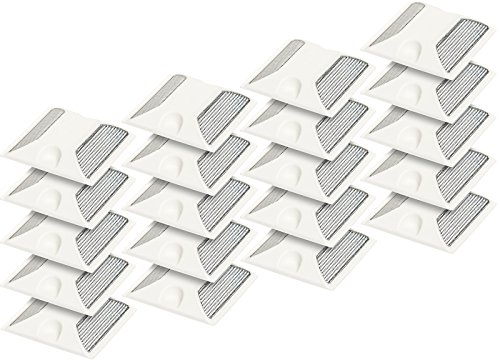 ((20 Pack) Commercial Reflective Road Pavement Marker (White))