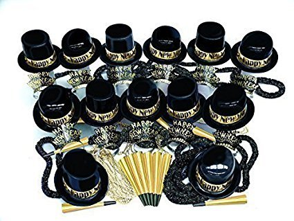 New Year's Eve Show Boat Gold/Silver Party Assortment (Pkg of 600)