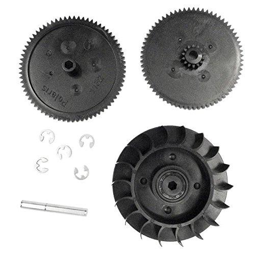Drive Train Gear Kit w/Turbine Bearing for Polaris 9-100-1132 360 380 ()
