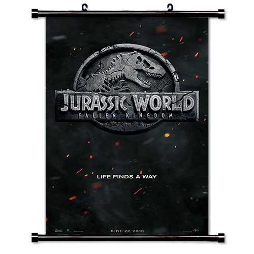 Jurassic Park - Fallen Kingdom Movie Fabric Wall Scroll Post