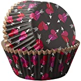 Wilton 415-5523 Hearts and Arrows Cupcake Liners