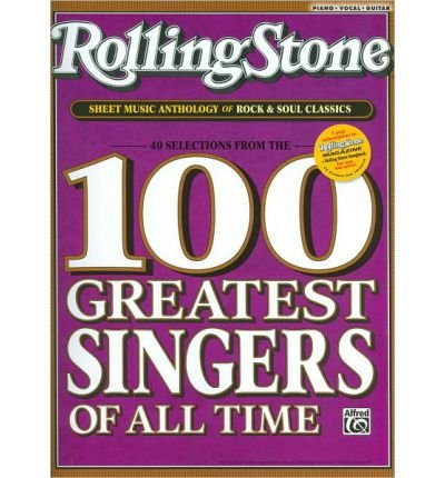 Download Rolling Stone Sheet Music Anthology of Rock & Soul Classics: 40 Selections from the 100 Greatest Singers of All Time (Rolling Stone Magazine) (Paperback) - Common PDF