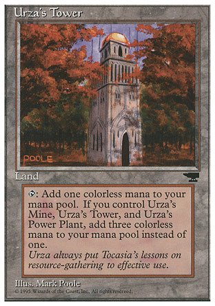 Magic: the Gathering - Urza's Tower - Chronicles