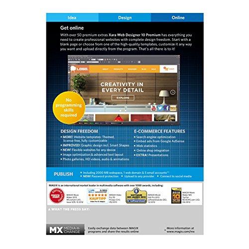 magix web designer 7 premium templates